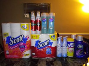 Household/Hygiene Bundle for Sale in Clarendon Hills, IL
