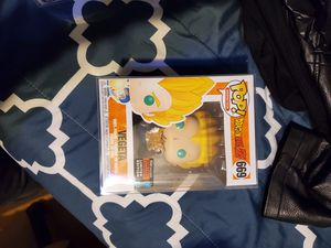 Dragonball z vegeta exclusive sale or trades for marvel pop for Sale in Bolingbrook, IL
