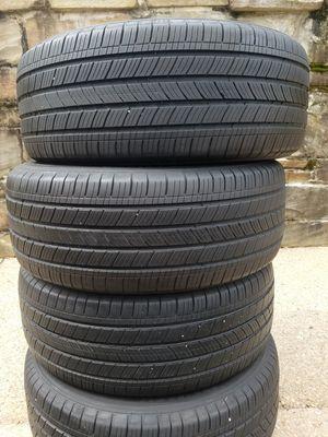 Full set Michelin tires 235/55R17 for Sale in Arlington, VA