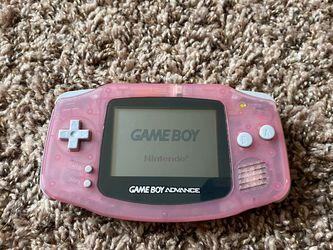 Clear Pink Gameboy Advance - Tested Works Great!! for Sale in Hillsboro,  OR