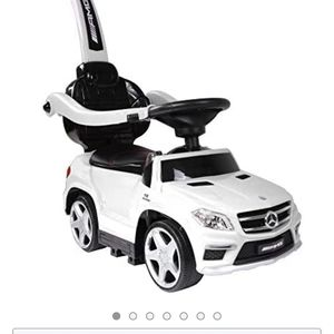 Best Ride-On Cars Baby Toddler 4-in-1 Mercedes Push Car Stroller w/ Led Lights for Sale in Los Angeles, CA