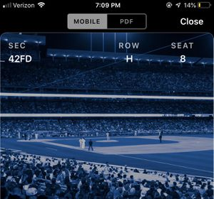 4 Dodger Game tickets for Sale in Rancho Cucamonga, CA