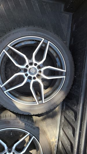 Brand new tires nd rims for Sale in Tucson, AZ