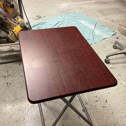 Foldable Wooden Table for Sale in Pompano Beach,  FL