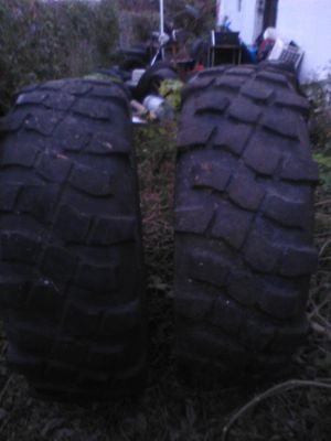 46 inch Michlen X. Military Tires DOT approved for Sale in Jacksonville, FL