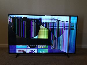 TCL 49S405 49-Inch 4K Ultra HD Roku Smart LED TV (2017 Model) for Sale in Frederick, MD