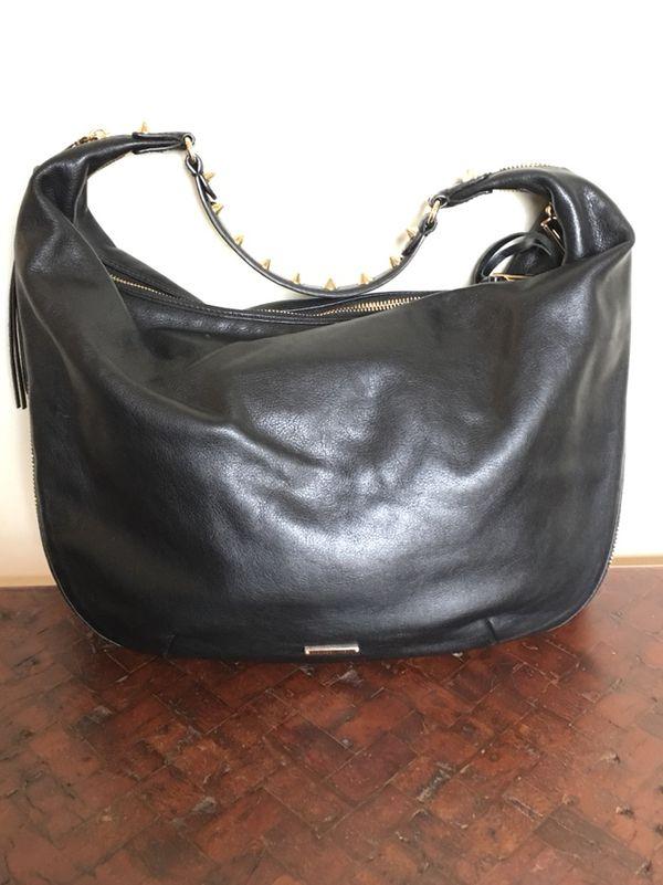 Rebecca Minkoff Genuine Leather Hobo Bag