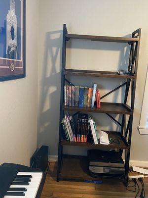 Wood and Bronze Bookshelves / Shelves for Sale in Houston, TX