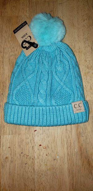 CC Kid's Blue Lined Beanie for Sale in Rockland, MA