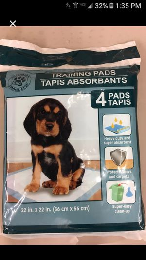 4Pack training pad puppy's for Sale in Huntington, IN