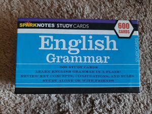 English Grammar 600 Flashcard for Sale in Wheaton, MD