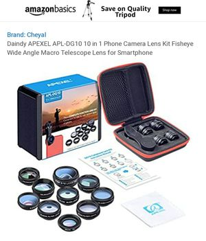DG10 Cellphone Lens Kit for Sale in West Bend, WI