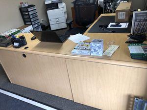 Blonde office furniture for Sale in Denver, CO