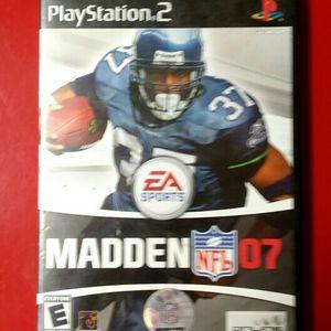 PS2 Madden NFL 07 for Sale in Las Vegas, NV