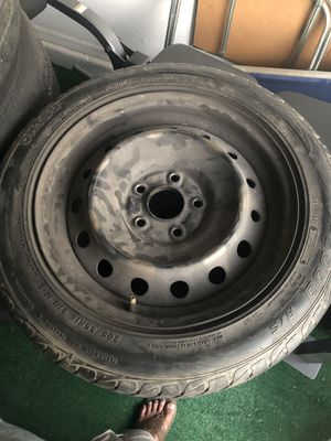 4 wheels and tires 205/55R16 still good. for Sale in Avondale, AZ