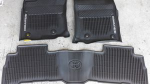 SET OF TOYOTA 4 RUNNER FLOOR MATS , FITS 2010 TO 2019 4 RUNNER. , GREAT CONDITION for Sale in Henderson, NV