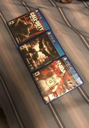 Ps4 games for Sale in Boston, MA