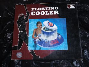 Chicago Cubs Baseball Swimming Pool NEW Floating Ice Beer So Cooler & 4 Cup Holder for Sale in Chicago, IL