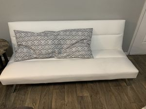 White futon for Sale in Irving, TX