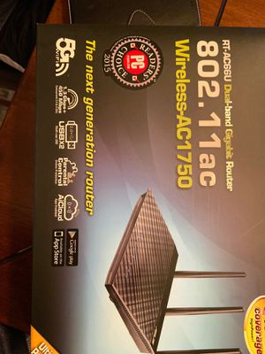 Asus Wireless AC1750 GB Router for Sale in Austin, TX
