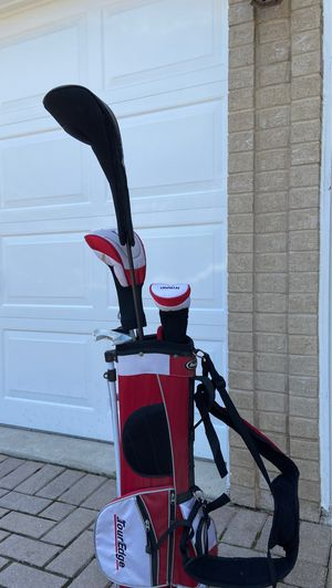 tour edge golf bag and clubs for Sale in New Lenox, IL