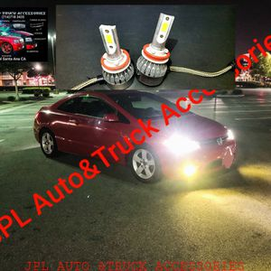 Auto Led Headlight hid Led lights Low Beam High Beam, Fogs Lights Daytime Running Luces Led pairs $H1 $H4$H7 $h9 $H11 $H13 $9005$ 9006$ 9007 $22pair for Sale in Santa Ana, CA