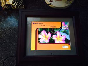 Smartparts SP8PRT 8-Inch Digital Picture Frame with Built-In Printer and OptiPix Software for Sale in Toms River, NJ
