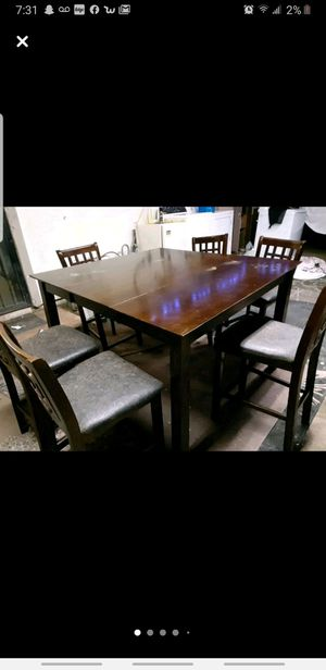 6 chair and table for Sale in Tucson, AZ