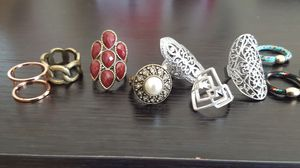 Negotiable.Ensemble of Rings (see 2nd picture)(non rusted) for Sale in PT ORANGE, FL