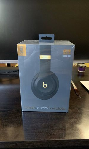 BRAND NEW (UNOPENED) Beats Studio Wireless 3 - Skyline collection: Midnight Black for Sale in Miami, FL