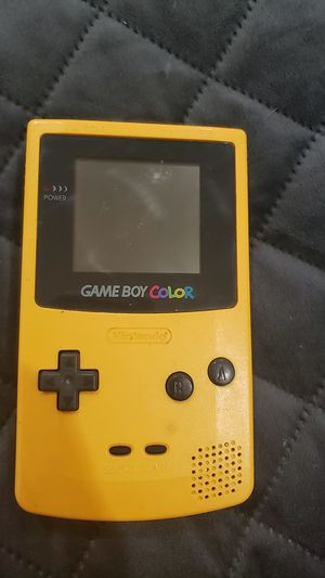 Series 1, 1998, Nintendo Gameboy Color, Yellow Version for Sale in Austin, TX