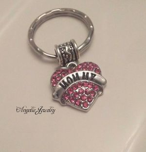 """Crystal """"Mommy"""" keychain for Sale in Frederick, MD"""