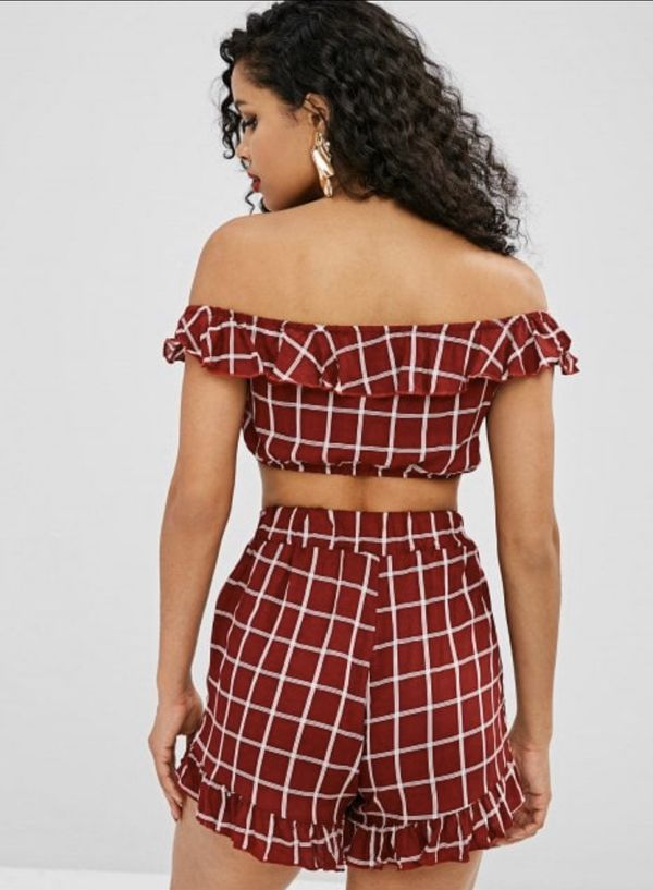Brand new ZAFUL two piece outfit
