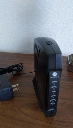 Motorola router SB5101 for Sale in Long Beach, CA