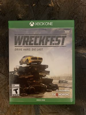 Wreckfest Xbox one for Sale in Pittsburgh, PA