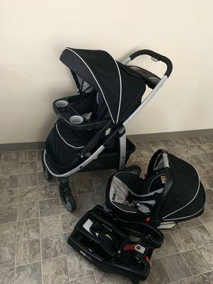 Stroller+car seat+base for Sale in Everett, WA