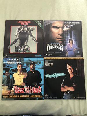 4 Laser Discs - action flicks for Sale in Miami, FL