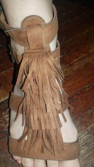 Makalu California fringe sandals for Sale in Des Moines, IA
