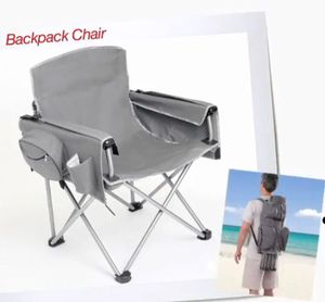 Brylane Home Heavy Duty Gray Backpack Chair for Sale in Fort Washington, MD