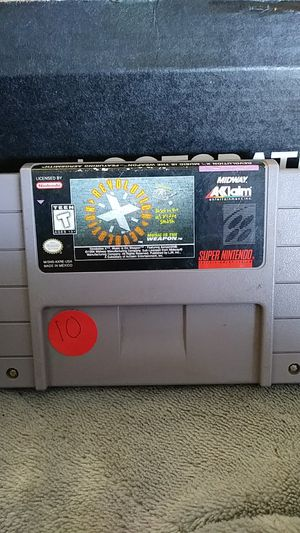 Super Nintendo SNES music is the weapon featuring Aerosmith for Sale in Victorville, CA