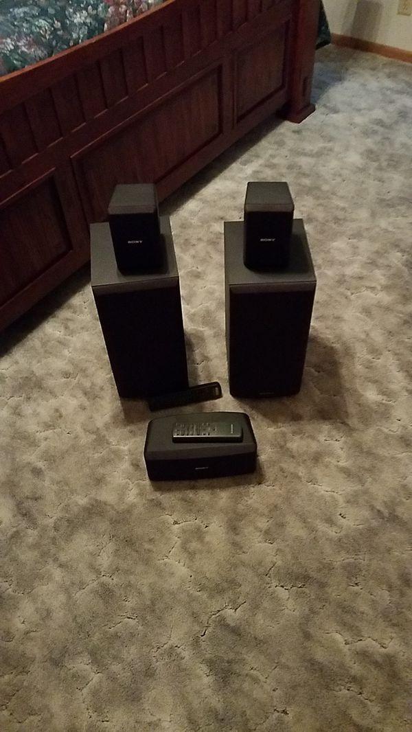 Sony speaker system w/ receiver
