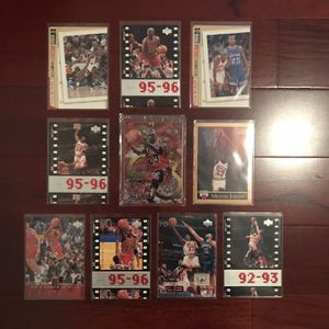 Michael Jordan Basketball 10-Card Lot #1. Sealed Upper Deck Metal Card! for Sale in Clermont, FL