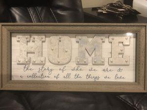 Home Decor Frame for Sale in Menifee, CA