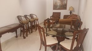Furniture. Sofa, chairs, table, stool. for Sale in Miami, FL