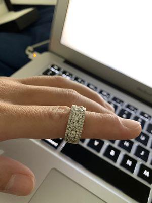 1.23 CT diamond ring 14k rose gold brand new never used for Sale in Newark, NJ