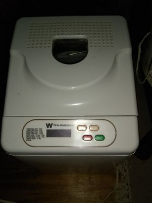 Bread maker White Westinghouse for Sale in Irving, TX