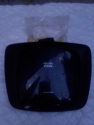 Cisco Linksys E1000 V2.1 300Mbps wireless-N router for Sale in La Mesa, CA