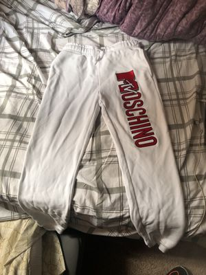 Moschino X H&M MTV sweatpants/joggers size XS for Sale in Washington, DC