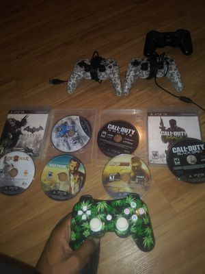 Ps3 controllers and games for Sale in Baton Rouge, LA