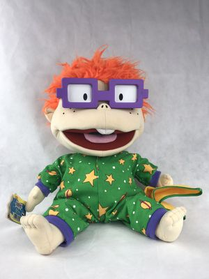 Nickelodeon Rugrats Chuckie Bedtime Plush, Stuffed Doll for Sale in Chillum, MD